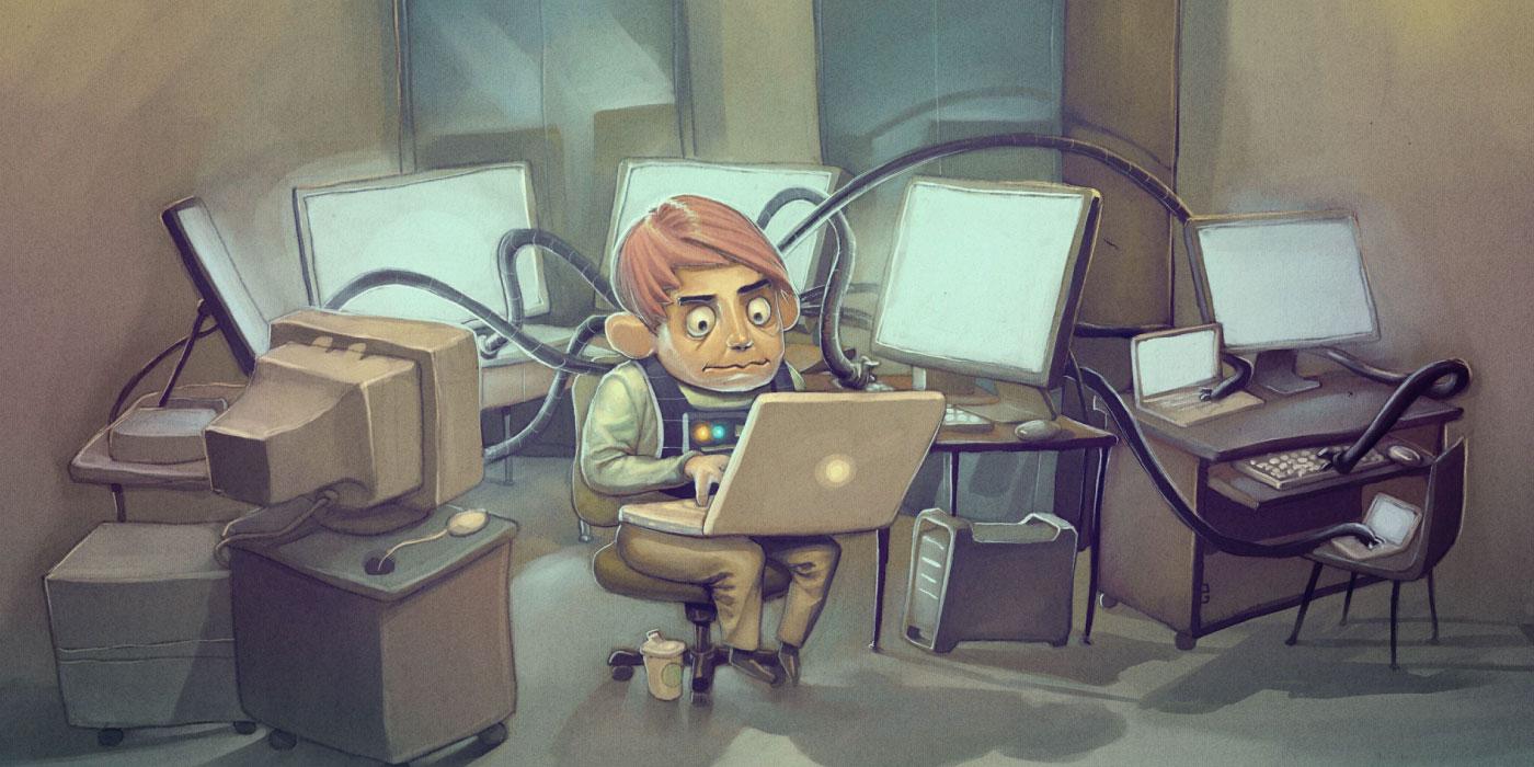 زندگی یک برنامه نویس هدر
